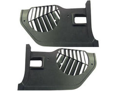 1969-70 mustang black kick panels pair