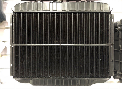 1968-69 mustang 289-302-351 radiator suit air con 24 inch wide