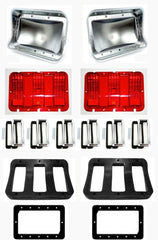 1968 ford mustang tail light assembly kit new