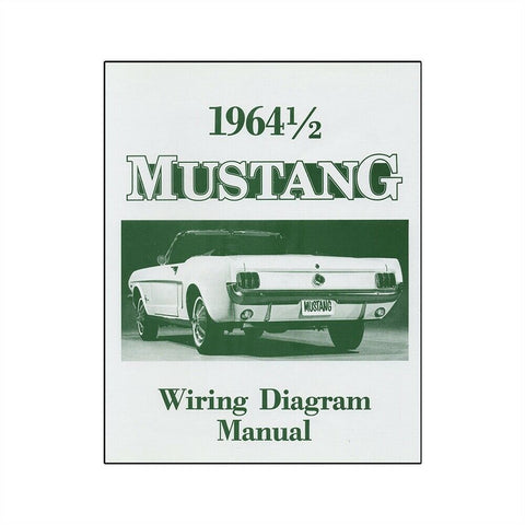 1964 1/2 ford mustang wiring diagram