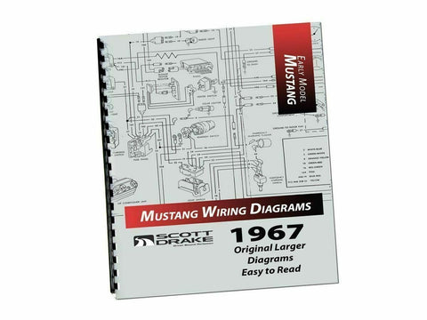 1967 Mustang pro wiring diagram manual