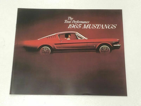 1965 Ford Mustang new sales brochure
