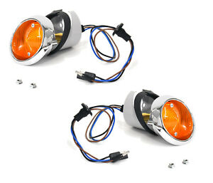 1965 1966 ford mustang parking lamp assemblies pair