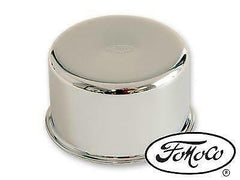 1964 1965 1966 ford mustang chrome oil cap with fomoco logo
