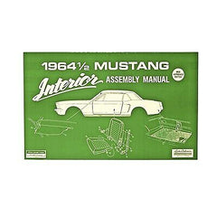 1964 1/2 ford mustang interior assembly manual