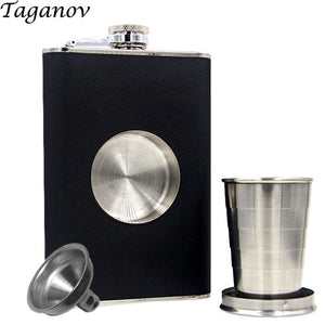 Shot-Hip-Flask-with-TeleScope-Cup