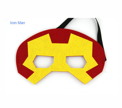 Superhero Cosplay Superman Batman Spider-man Hulk Thor Iron Man Halloween Party Costumes Masks