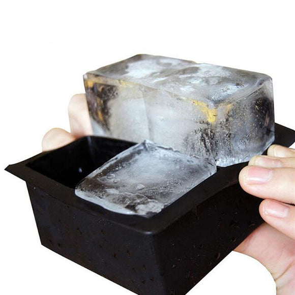 Big-Size-Large-Ice-Cube-Square-Tray-Mold-Whiskey-Cocktails