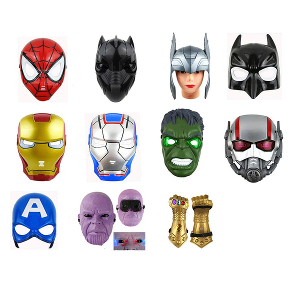 LED Glowing Super Hero Halloween Mask