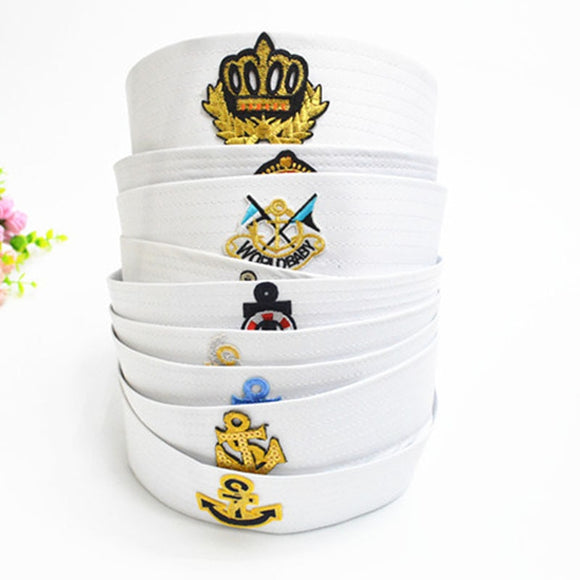 Sailors Captain White Hat Navy