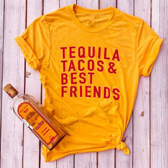 Tequila Tacos and Best Friends Shirt