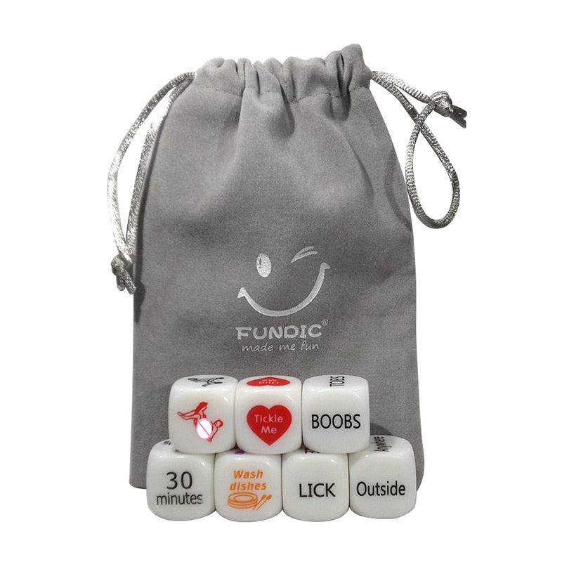 7pcs/lot Drinking Game Sexual Dice Set