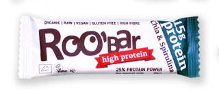 Roobar Chia & Spirulina Protein