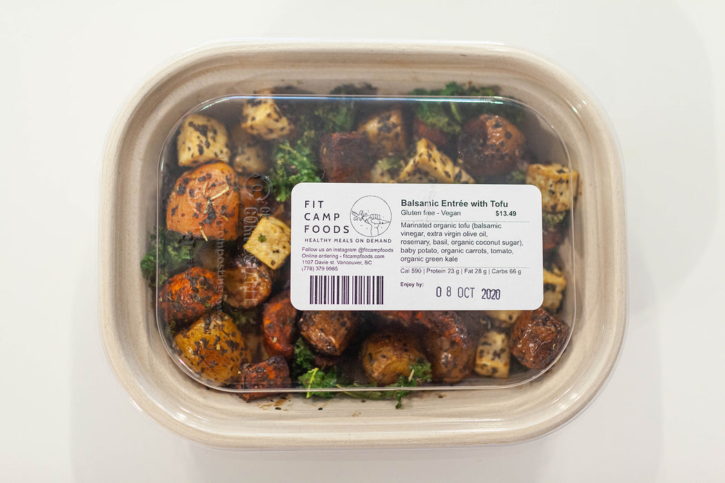 Roasted Balsamic Entree with Modern Meatballs