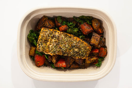 Roasted Balsamic Entree with Salmon