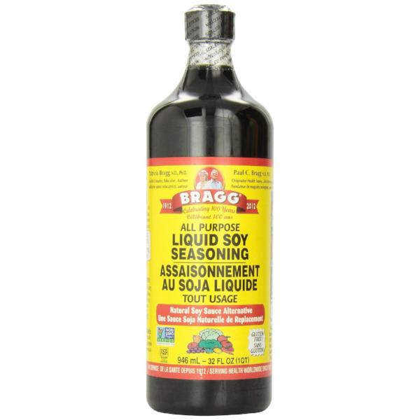 a0ca9840b8 Bragg All Purpose Liquid Soy Seasoning - Fit Camp Foods