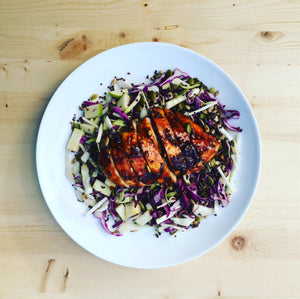Chilli Chicken Coleslaw Bowl - DF | GF