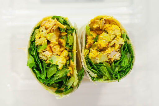 Creamy Curry Wrap with Chicken