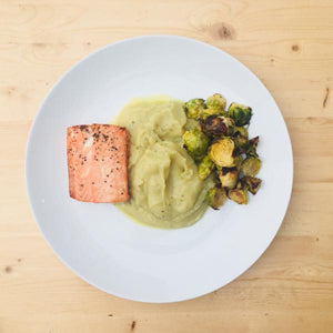 Caulimash Entree with Salmon - DF | GF