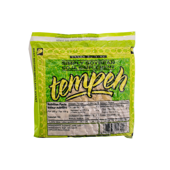 Green Cuisine Simply Soybean Tempeh - 225g