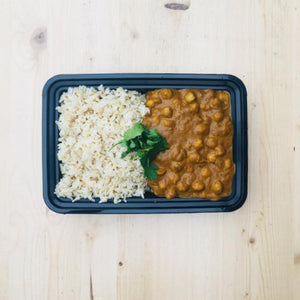 Chickpea Curry Bowl - DF | GF | VG