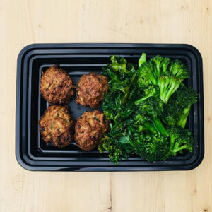 The Lean Entree with Regular Turkey Meatballs - DF | GF