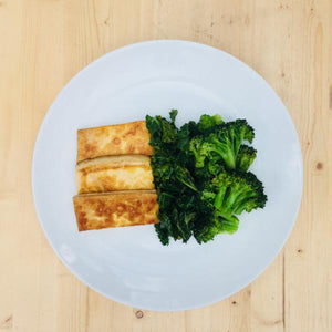 Marinated Tofu & Greens Entree - DF | GF | VG
