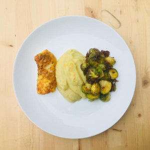 Caulimash Entree with Cod - DF | GF