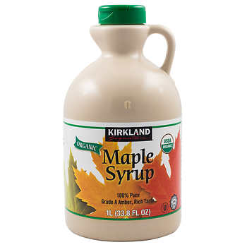 Kirkland Pure Organic Maple Syrup