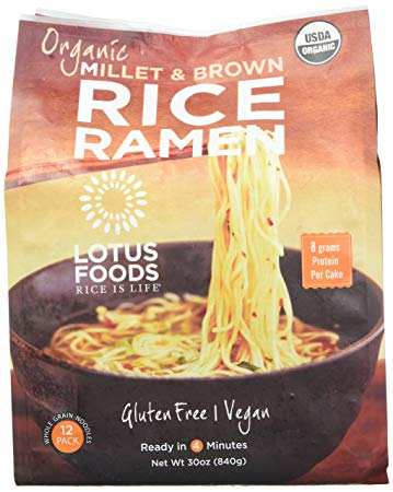 Organic Millet & Brown Rice Ramen Noodles