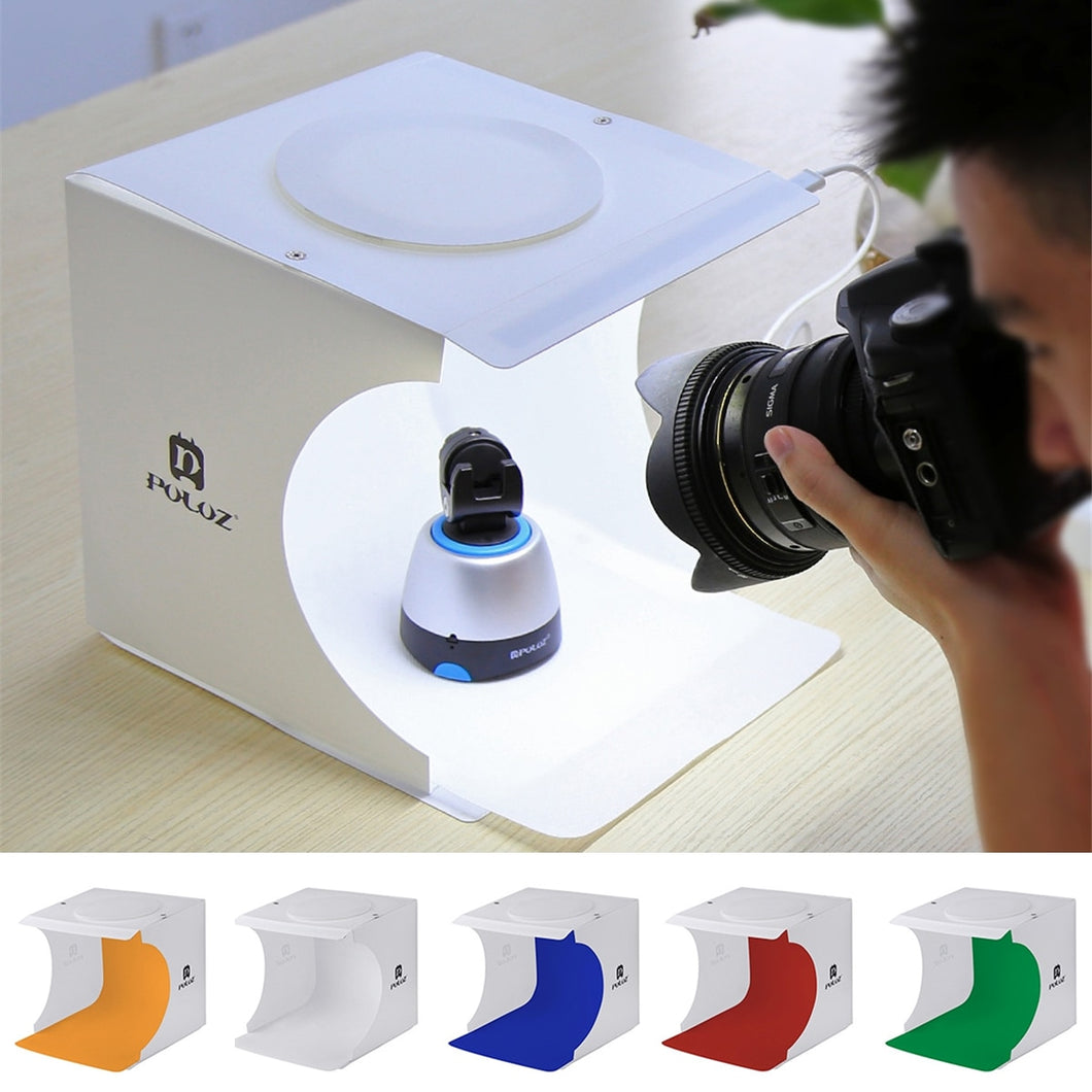 Portable Mini Photo Studio Box Photography Boxes Photography Backdrop LED Light Room Tent Tabletop Shooting New Arrival