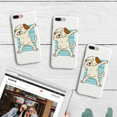 Dabbing Pup iPhone Case