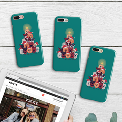 Doggy Christmas iPhone Case