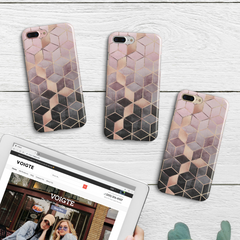Gradient Cubes iPhone Case
