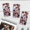 Image of Many Faces of Jim iPhone Case