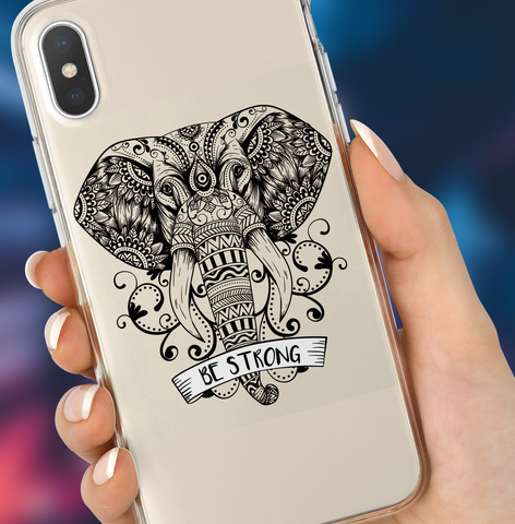 """BE STRONG"" iPhone Case"