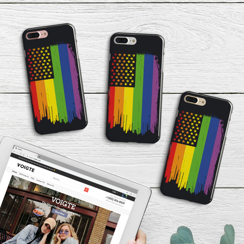 Pride Flag iPhone Case