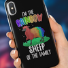 Image of Rainbow Sheep iPhone Case