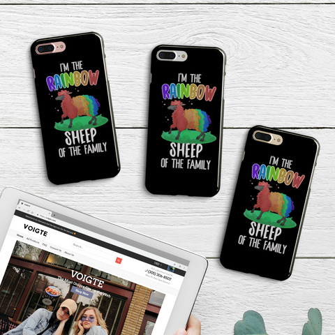 Rainbow Sheep iPhone Case