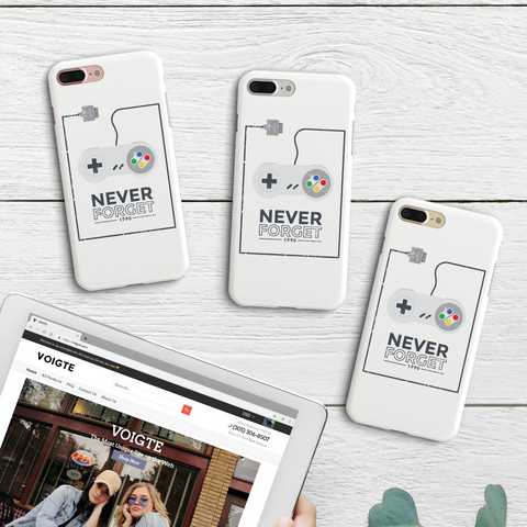 """Never Forget"" iPhone Case"