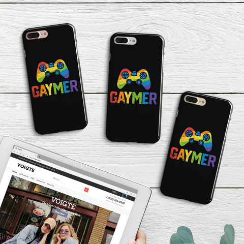 Gaymer iPhone Case