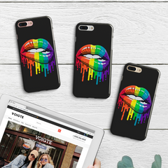 Rainbow Kiss iPhone Case