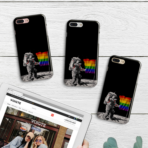 Astro Pride iPhone Case