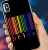 Image of Color Bar Code iPhone Case