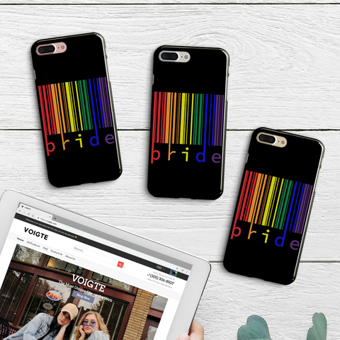 Color Bar Code iPhone Case