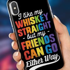 Whiskey & Friends iPhone Case