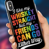 Image of Whiskey & Friends iPhone Case
