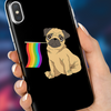 Image of Pride Pug Phone Case