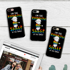 Rainbow Sheep Phone Case