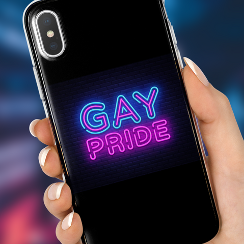 Neon Gay Pride Phone Case